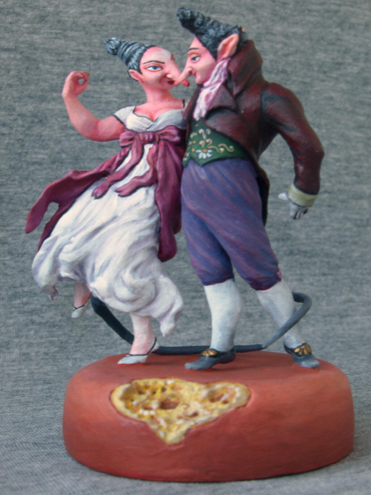 AUTOR  Mihail Chemiakin Chemiakin Chemiakin  Sculpture  Gallant rats  54 mm. Circulation  500 677e1b