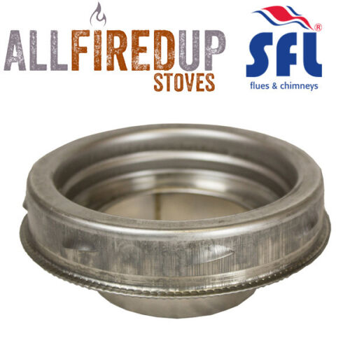 SFL Sflue Stainless Twin Wall Insulated Flue Pipe Twist Lock Increasing Adapter