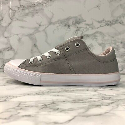CONVERSE CHUCK TAYLOR ALL STAR MADISON OX 660908F GREYPINK YOUTH SHOES SIZE 5 | eBay
