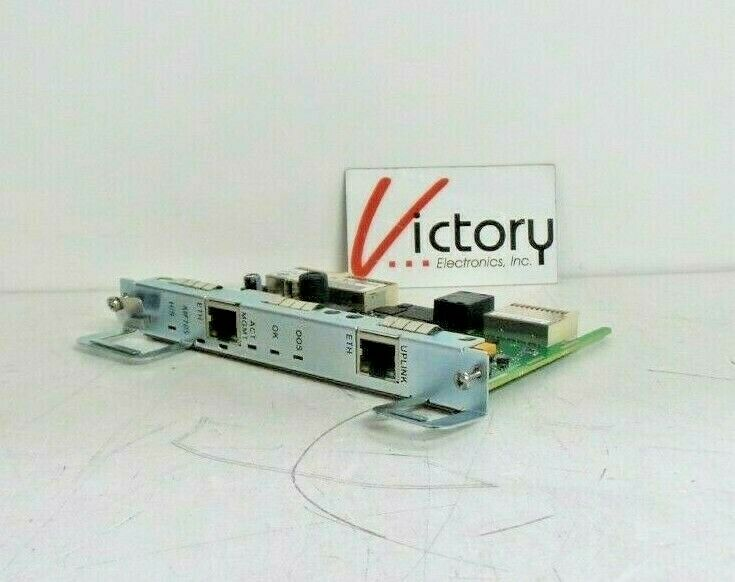 Used Motorola ATCA-M100 Control Board | 6406857B02A | REV B | Dual Ethernet Port. Available Now for 100.00