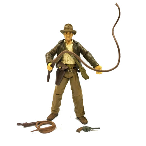 "INDIANA JONES Raiders OF THE LOST ARK 4 /""pollici Action Figure 2008 ak79"