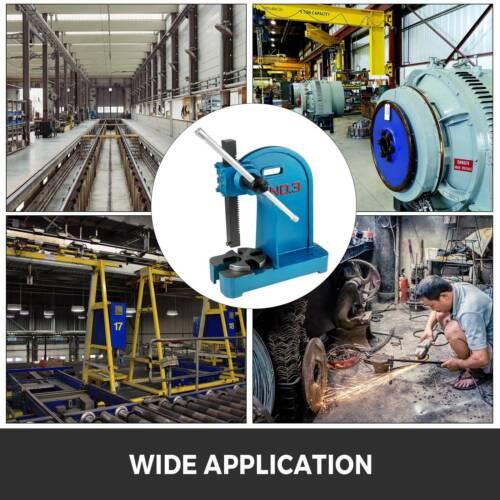 Arbor Press 3 Ton Manual Heavy Duty Press Machine Cast Iron Assembly