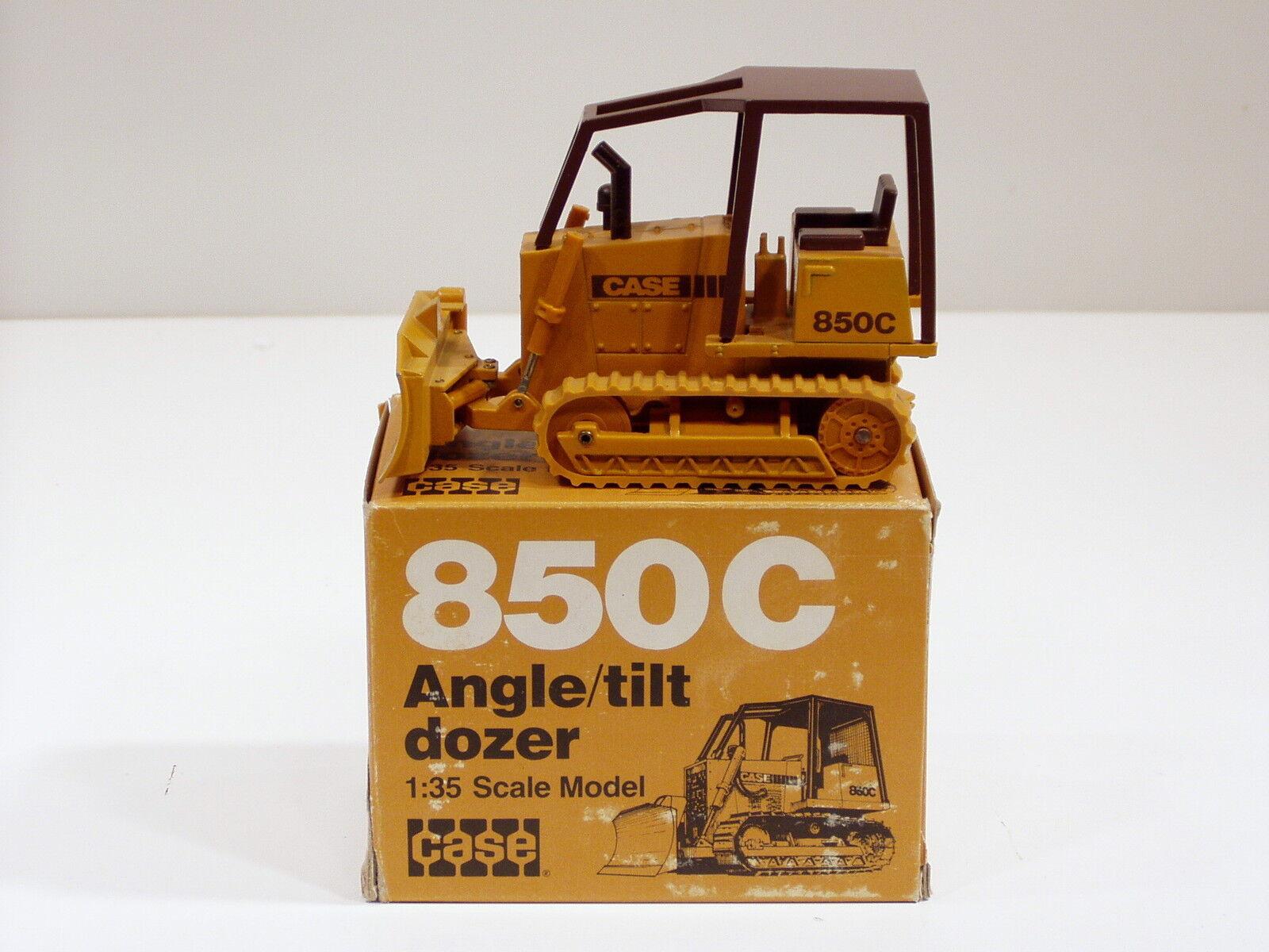 Case 850C Dozer - 1 35 - NZG  176 - MIB