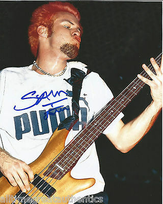 Entertainment Memorabilia Analytical Limp Bizkit Bassist Sam Rivers Hand Signed Authentic 8x10 Photo W/coa To Adopt Advanced Technology Autographs-original