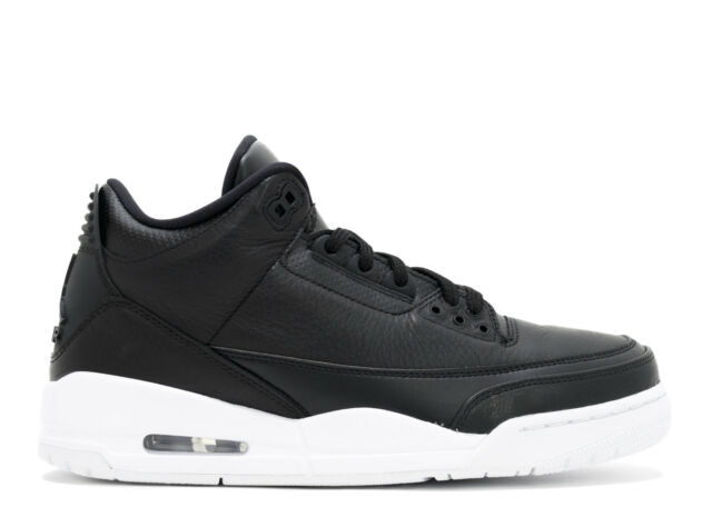 hot sale online 1d979 902de Nike Air Jordan 3 Retro Men s Sneakers - 10.5 US, Black White Black