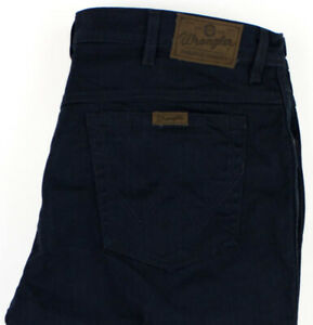 Wrangler Hommes Coupe Standard Slim Jeans Extensible Taille W42 L28 AGZ414
