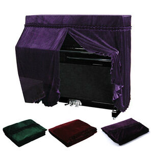 153-35-120CM-Mulitcolor-Elegant-Pleuche-Piano-Full-Cover-Dustproof-Protector