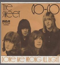 "7"" The Sweet CO-CO / Done Me Wrong All Right 70`s RCA 74-16 086"