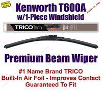 Wiper 1-pack Beam - Fits 2007 Kenworth T600a W/1-piece Windshield - 19180