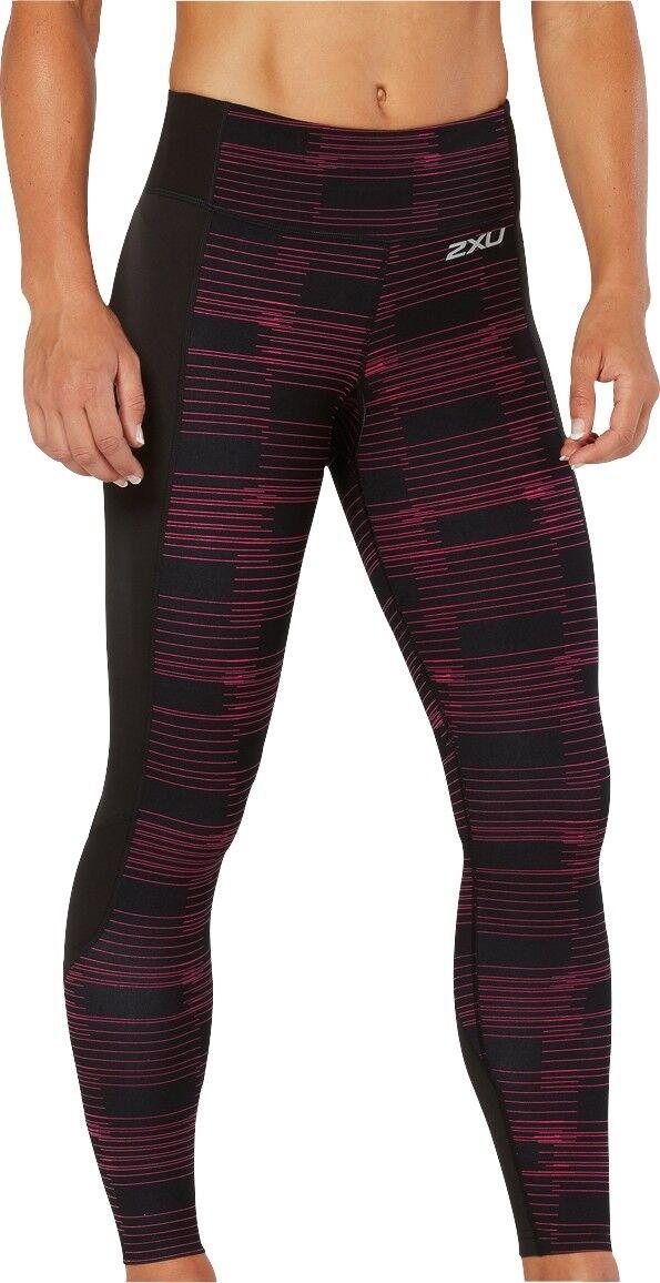 2XU modello Fitness collant a compressione da donna nero palestra allenamento in esecuzione di formazione