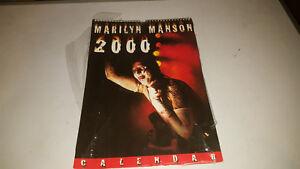 Calendario Del 2000.Dettagli Su Marilyn Manson Calendario Del 2000