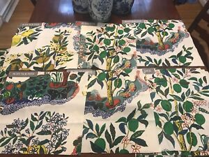 Schumacher-Citrus-Garden-Fabric