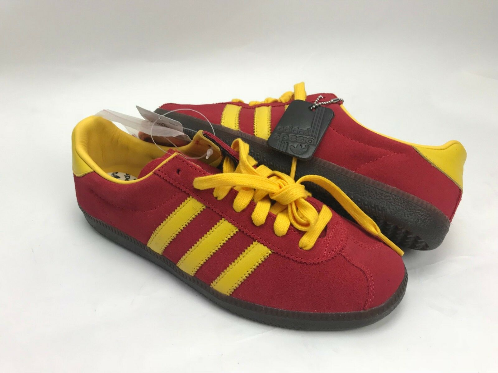 Adidas Originals Spritus SPZL - CG2923 - Scarlet Red Yellow Dark Gum - Size 7