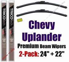 Wipers 2pk Premium Wiper Beam Blades fit 2005-2009 Chevrolet Uplander 19240/220