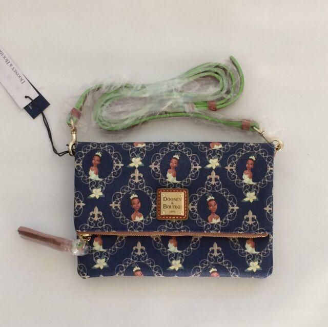 9d9983b7d9c BNWT Disney Parks Dooney and Bourke Tiana Foldover Zip Crossbody Bag Purse
