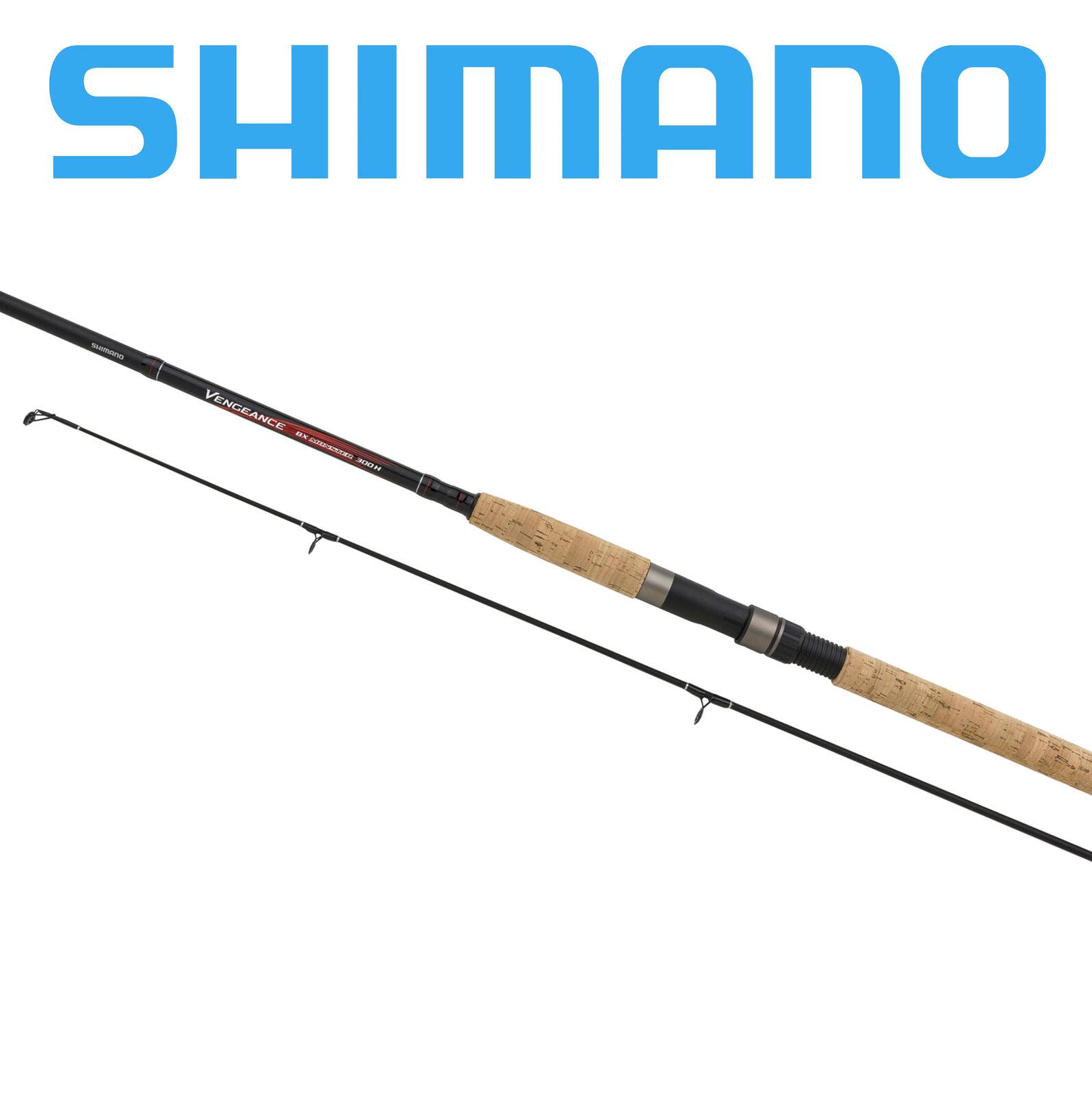 Canna da pesca Shimano Vengeance BX Spinning rod in carbonio per mare e treda