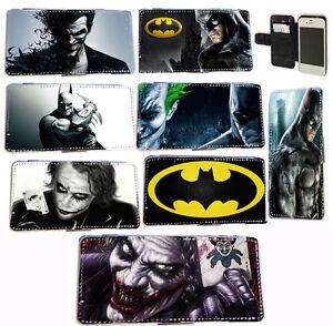 Comic-Batman-Joker-leather-card-wallet-flip-phone-case-for-Iphone-4-4s-5-5s-5c