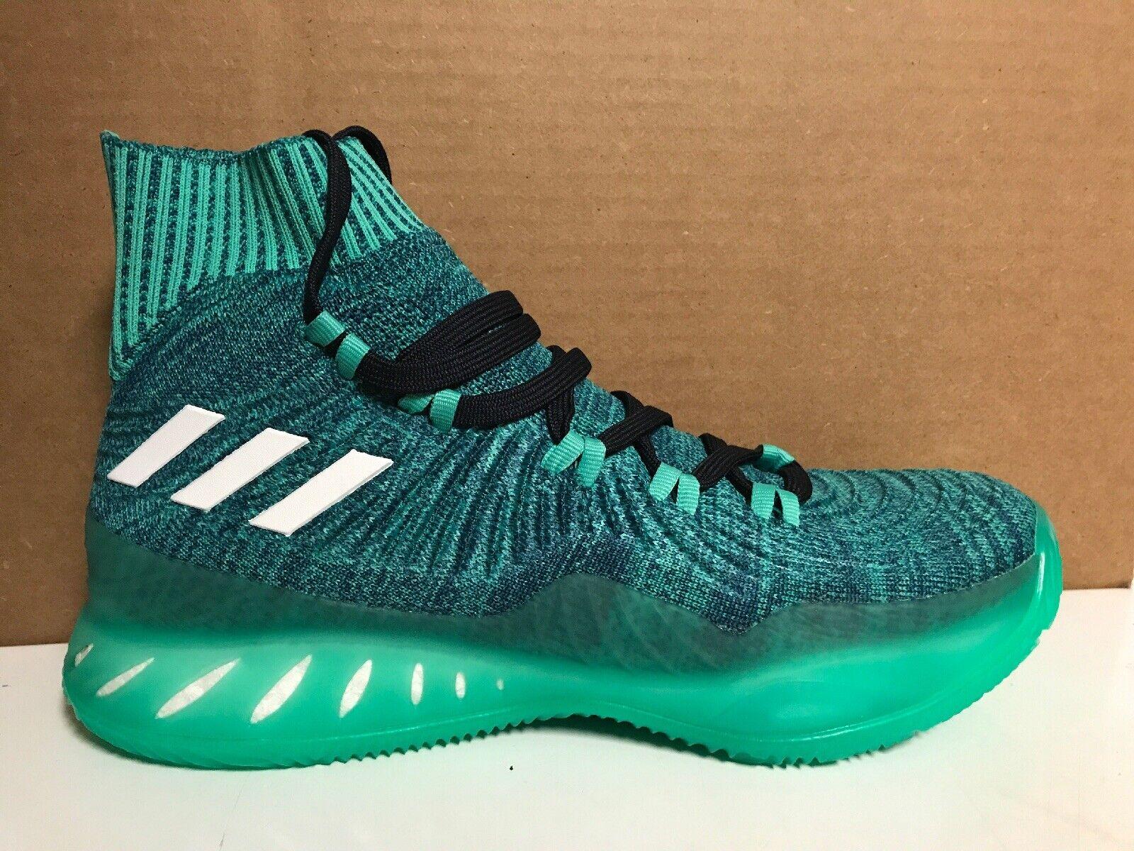 Nuovo Adidas Boost SM Crazy  EXPLIVE PK GS Champ Mens Dimensione 9.5 AQ0461 verde  il più alla moda