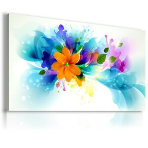Details about PAINTING FLOWERS Decoupage PRINT Canvas Wall Art AB105 MATAGA  . NO FRAME