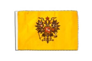 Russland-Zar-Nikolaus-Banner-russische-Zaren-Fahnen-Flaggen-30x45cm