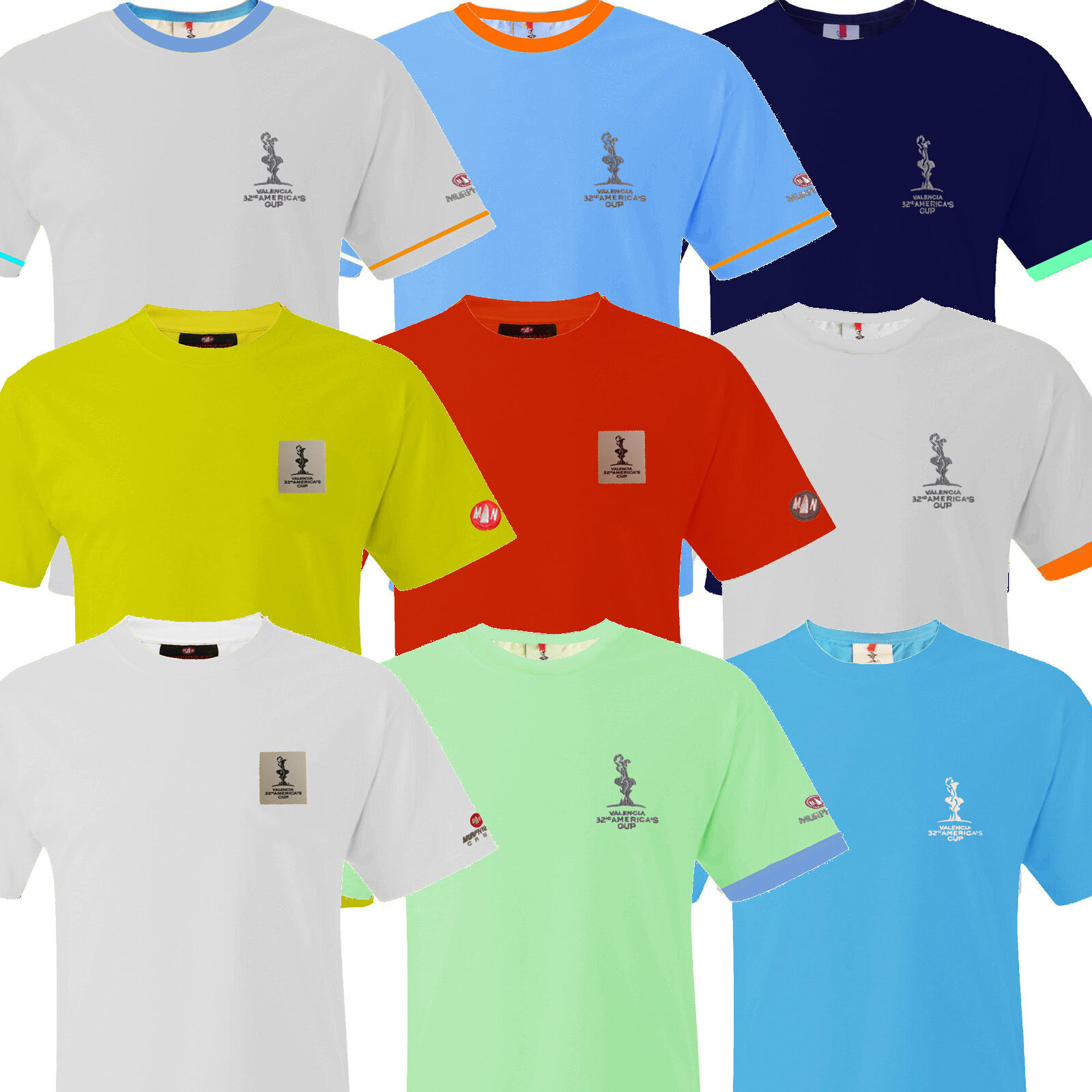 Sailing clothing sailing trousers amp shoes for men sailing clothes - Murphy Nye Mens T Shirt Americas Cup Tee Yachting Sailing Valencia New