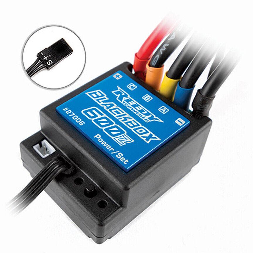 Nuevo 27006 Reedy BLKbox 600Z Zero Associated-Timing Bruce Lee Esc Envío Gratis en EE. UU.