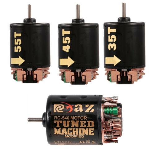 Gebürsteter Motor 5V 2A BEC 540 Motor ESC Combo für 1//10 RC Rennwagenteile