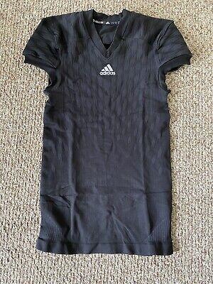 Adidas Techfit Primeknit Black/grey Football Jersey Mens Sz Large $130 M99580   eBay