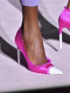 Tom Ford Runway 2018 Fuchsia Pink Satin