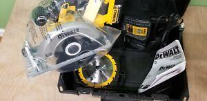 "DEWALT DCS391P1 20V MAX 6-1//2/"" Cordless Circular Saw Kit"