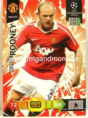 Wayne Rooney Base Adrenalyn XL Champions League 10//11
