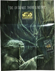 STAR-WARS-CCG-Dagobah-Promotional-Release-Poster-84cm-x-65cm-Decipher-NEW