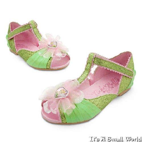 Disney Store Princess Ariel Aurora Belle Rapunzel Dress Up Costume Shoes NWT