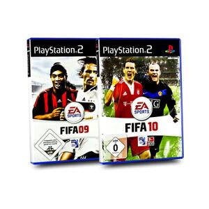 Playstation-2-Jeux-Paquet-Fifa-09-2009-Fifa-10-2010-PS2-2-Jeux
