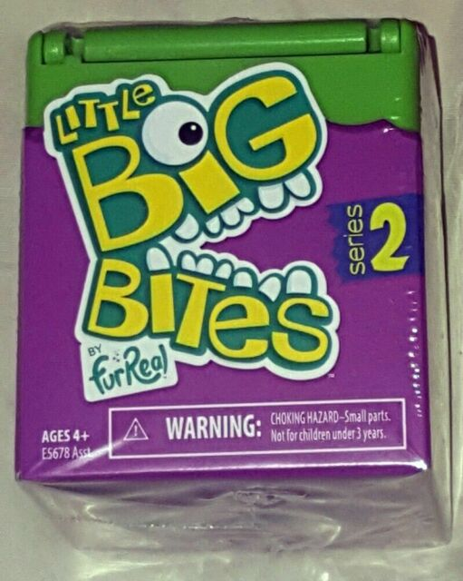 3 pack Fur Real Little Big Bites Series 2 Blind Box Party Favor Surprise