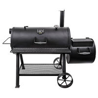 Char-broil Oklahoma Joe's Longhorn Reverse Flow Offset Charcoal Barbecue Smoker