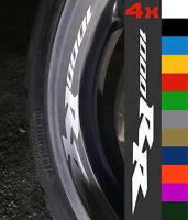 4x Honda CBR 1000RR Wheel Rim Sticker Decal Motorcycle Vinyl 1000 RR Fireblade