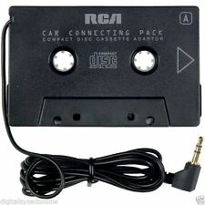 RCA AH600R Auto Car Cassette Adapter for iPhone, Smartphone, MP3