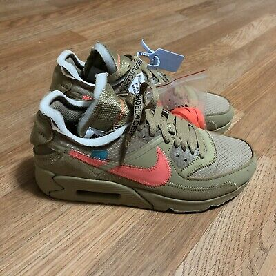 best sneakers 42b40 3d6a5 Off-White x Nike - The Ten: Air Max 90 (2019) - Desert Ore / Tan - 7 Mens -  DSWT | eBay