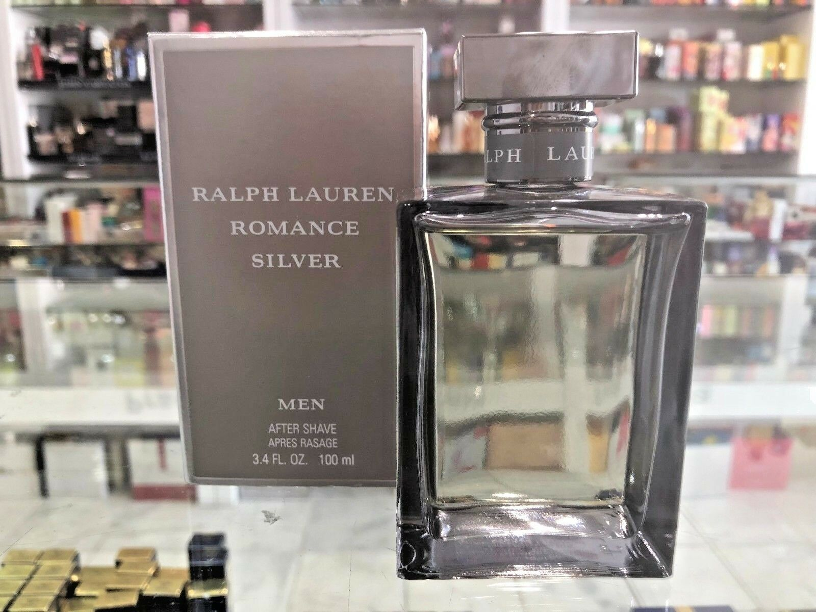 bc69e2ffd Ralph Lauren Romance Silver for Men After Shave 100ml for sale ...