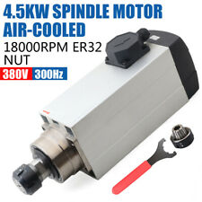 Spindle Motor Er32 380v 45kw Air Cooled 18000rpm Woodworking Router Machine