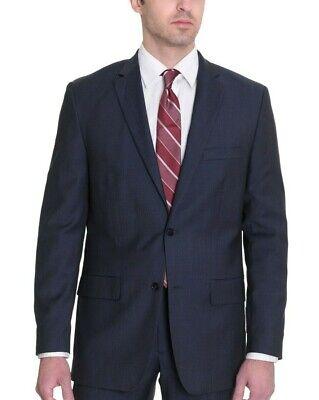 $70 Alfani Classic Fit Solid Charcoal Gray 100/% Wool Six Button Suit Vest 44R