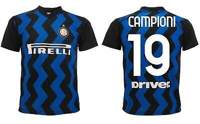 Maglia Inter 2021 personalizzata Campioni 19 Scudetto Celebrativa Adulto bambino | eBay