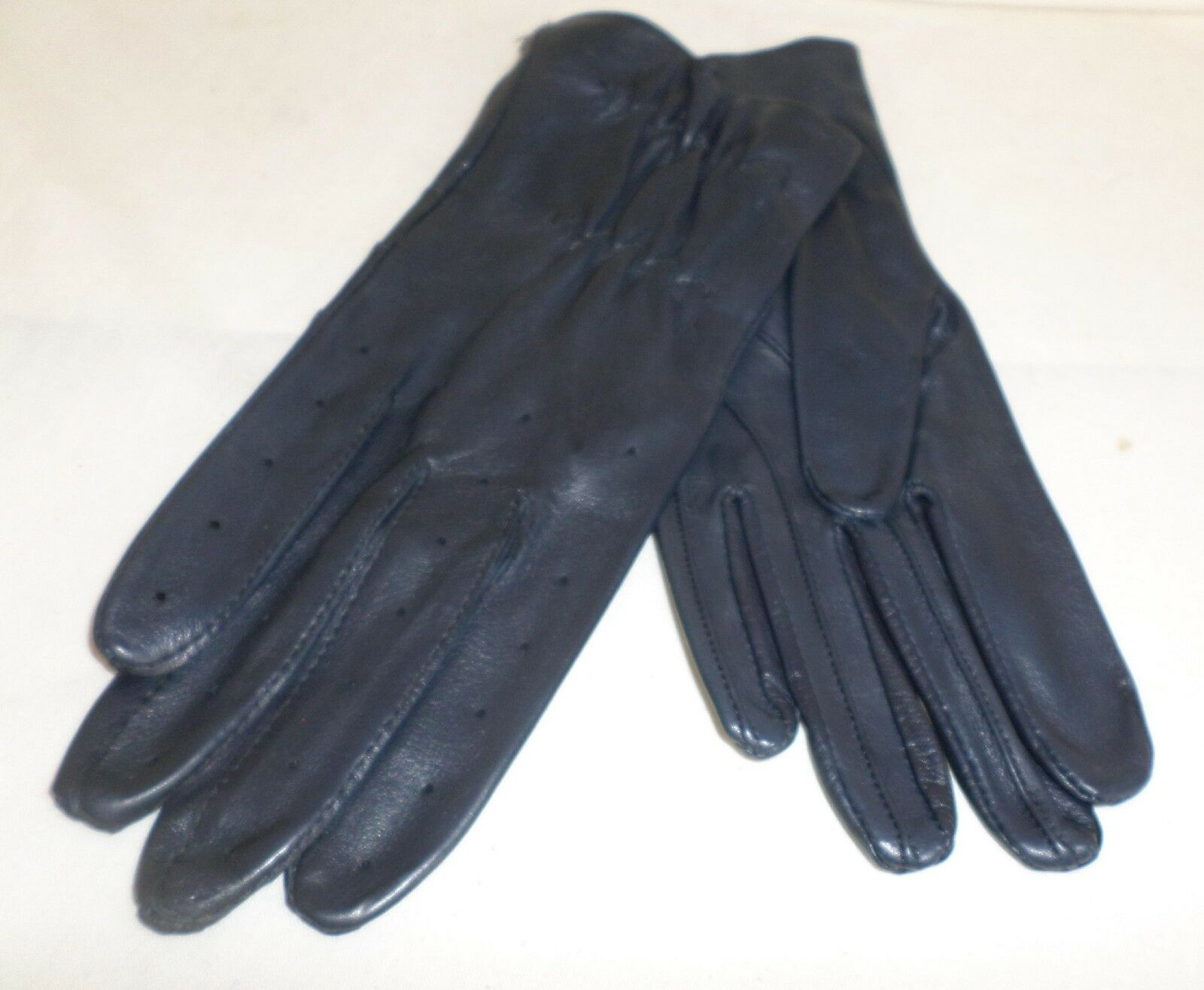 Reed  Hill Ladies Leather Show G  Navy MEDIUM - USA  low 40% price
