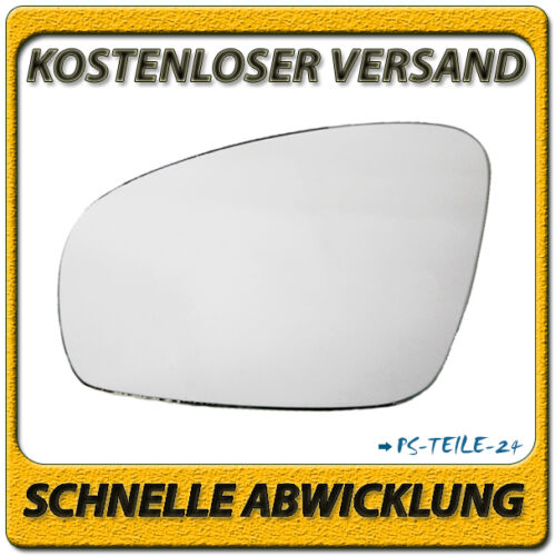 Spiegelglas für SKODA ROOMSTER //PRAKTIK 2007-2015 links Fahrerseite konvex