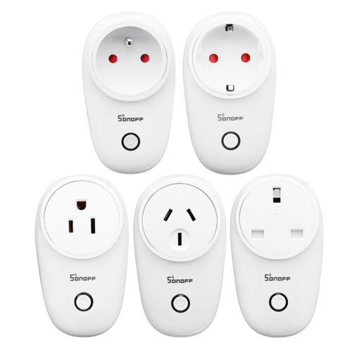 SONOFF® S26 10A AC90V-250V Smart WiFi Socket US//UK//AU//EU Wireless Plug Power
