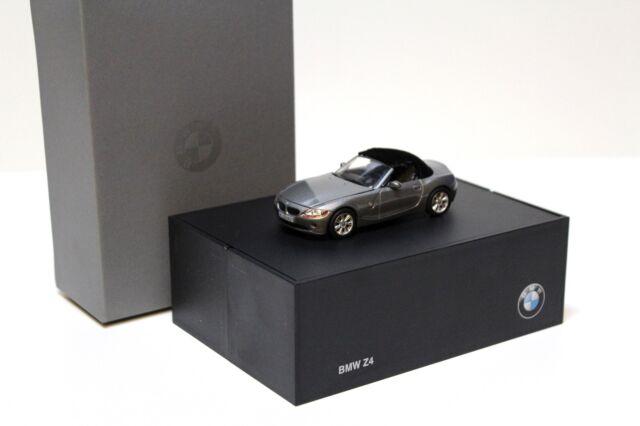 1:43 norev bmw z4 e85 roadster Grey dealer New en Premium-modelcars