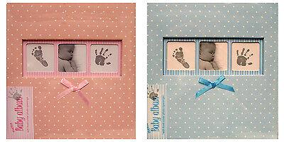 Innova Polka Dot BABY Album Choice of Size and Colour Holds 6x4s