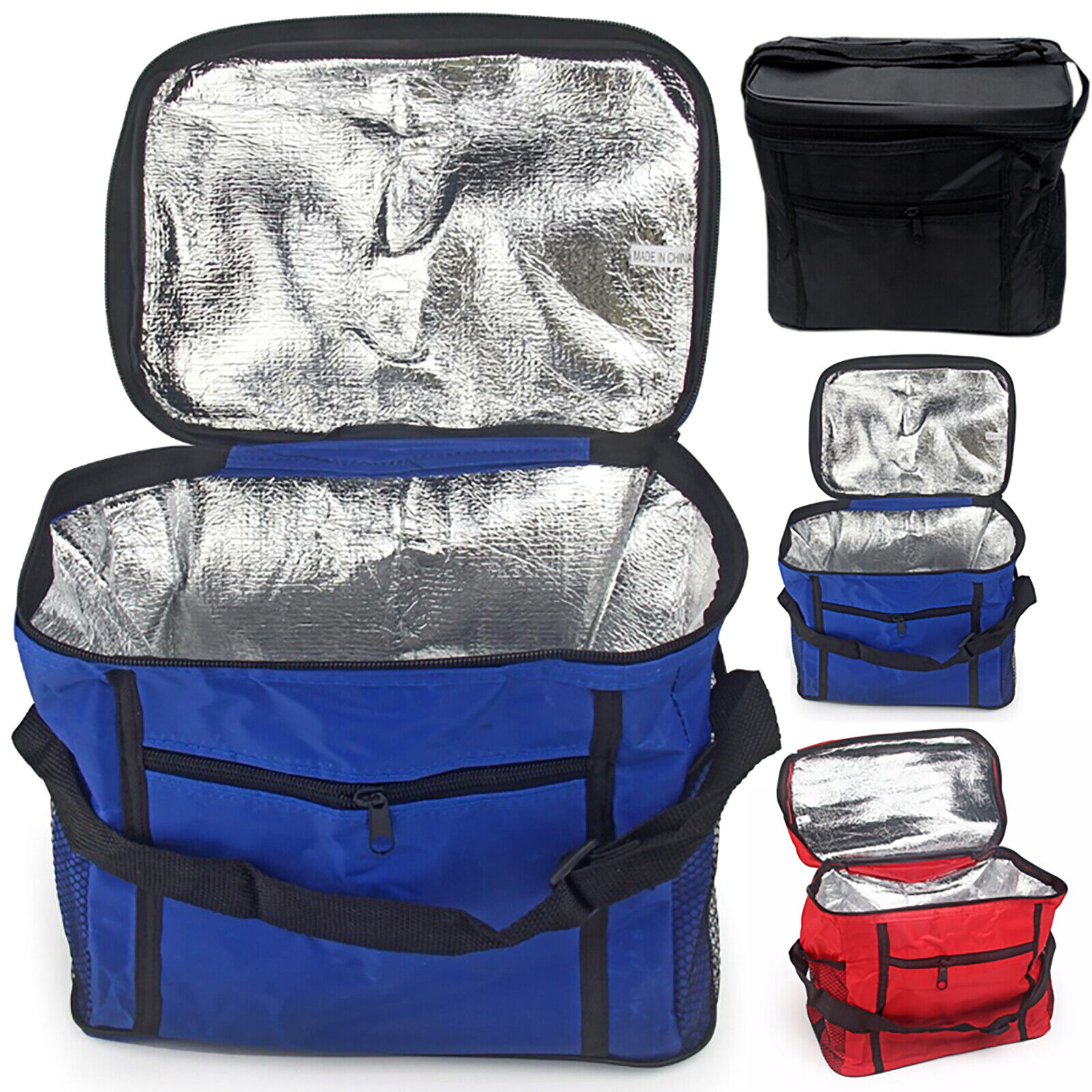 Large Lunch Bag Insulated Thermal Cooler Adult Kid Food Drink Storage Lunch Box