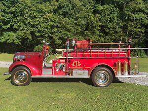 1938 Chevrolet Fire truck.